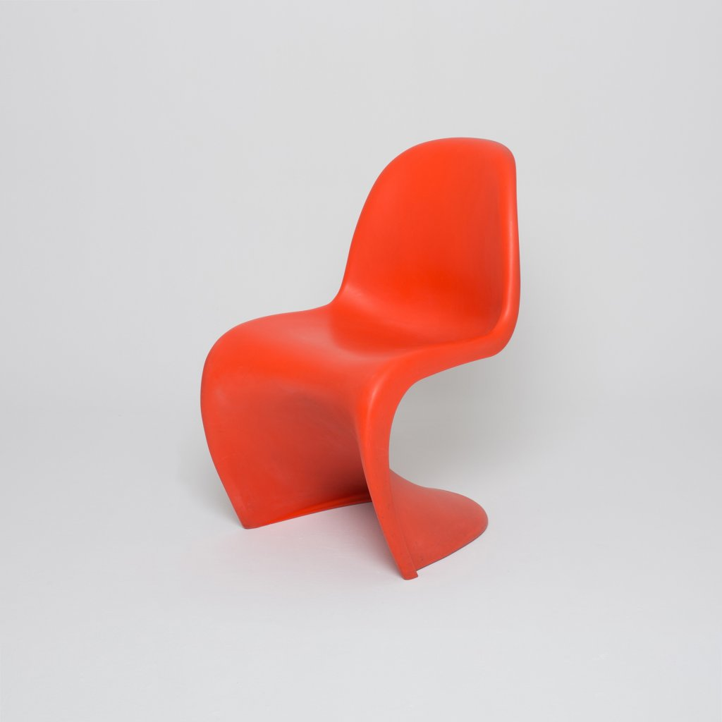 Chaise Verner Panton S chair 1959 (Vitra) grand format