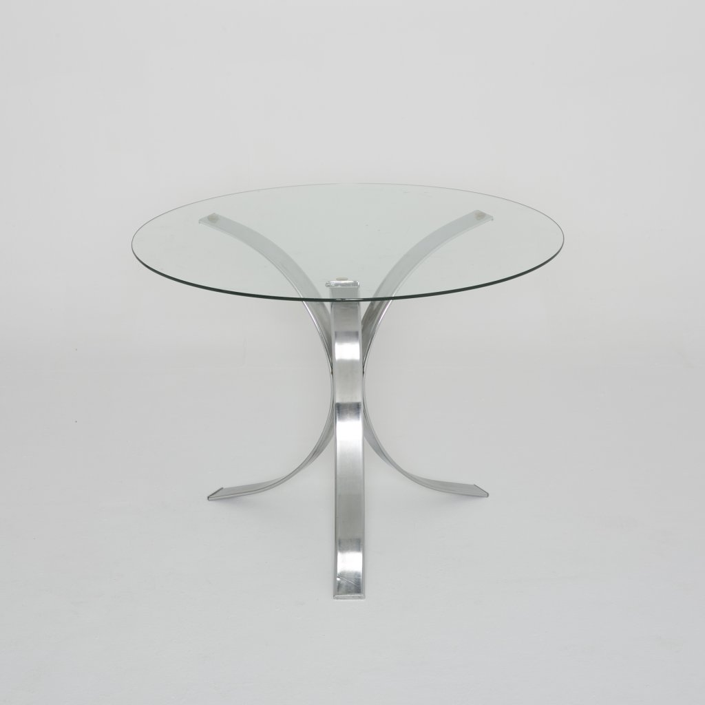 Table   Anonyme tripode 1970 (Stucture créations contemporaines)