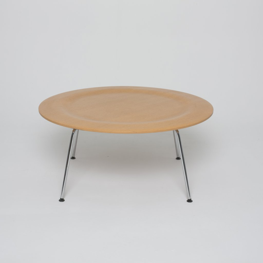 Table Basse Charles Eames Ctm Frene Naturel 1946 Vitra Xxo
