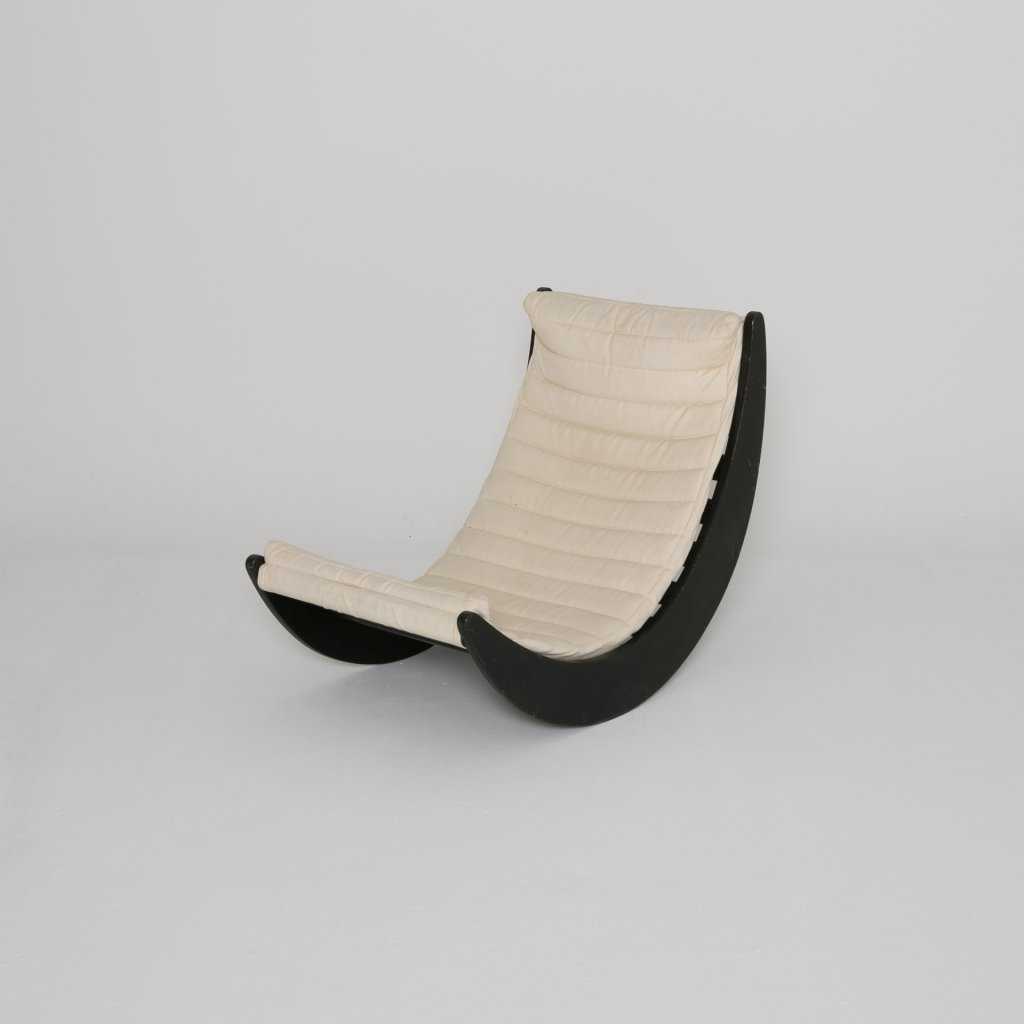 Rocking Chair Verner Panton Relax 1974 (Rosenthal)