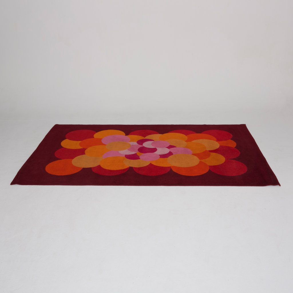 Tapis   Anonyme  1970 ( Inconnu) grand format