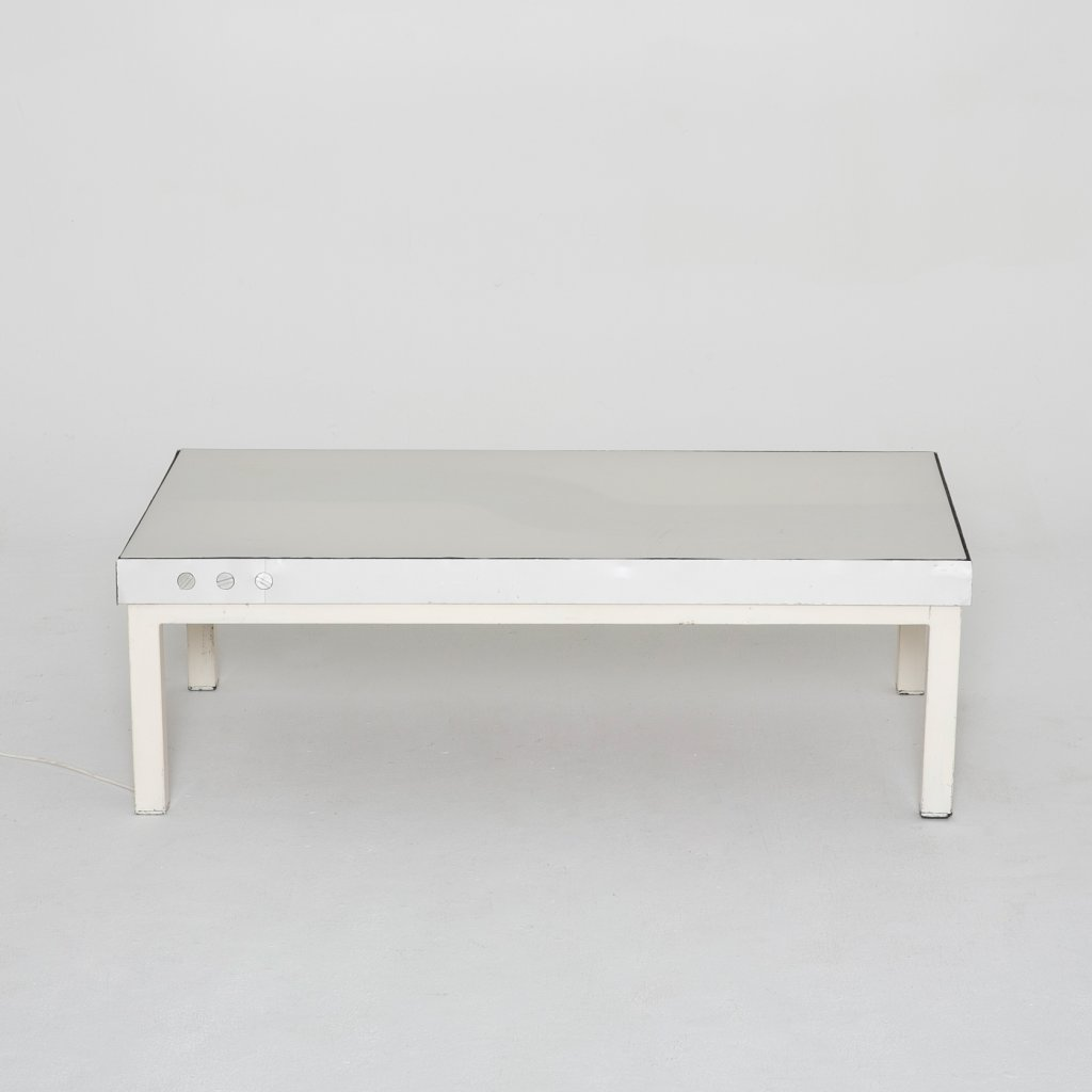 Table basse  Peritore Table Lumineuse 1970 (Chabrieres)