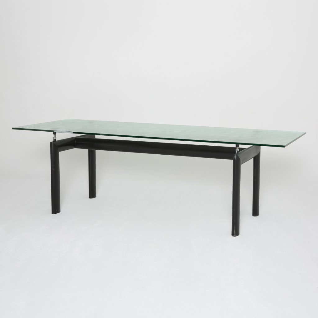 Table Charles Edouard Jeanneret dit Le Corbusier LC6 2000 (Cassina)