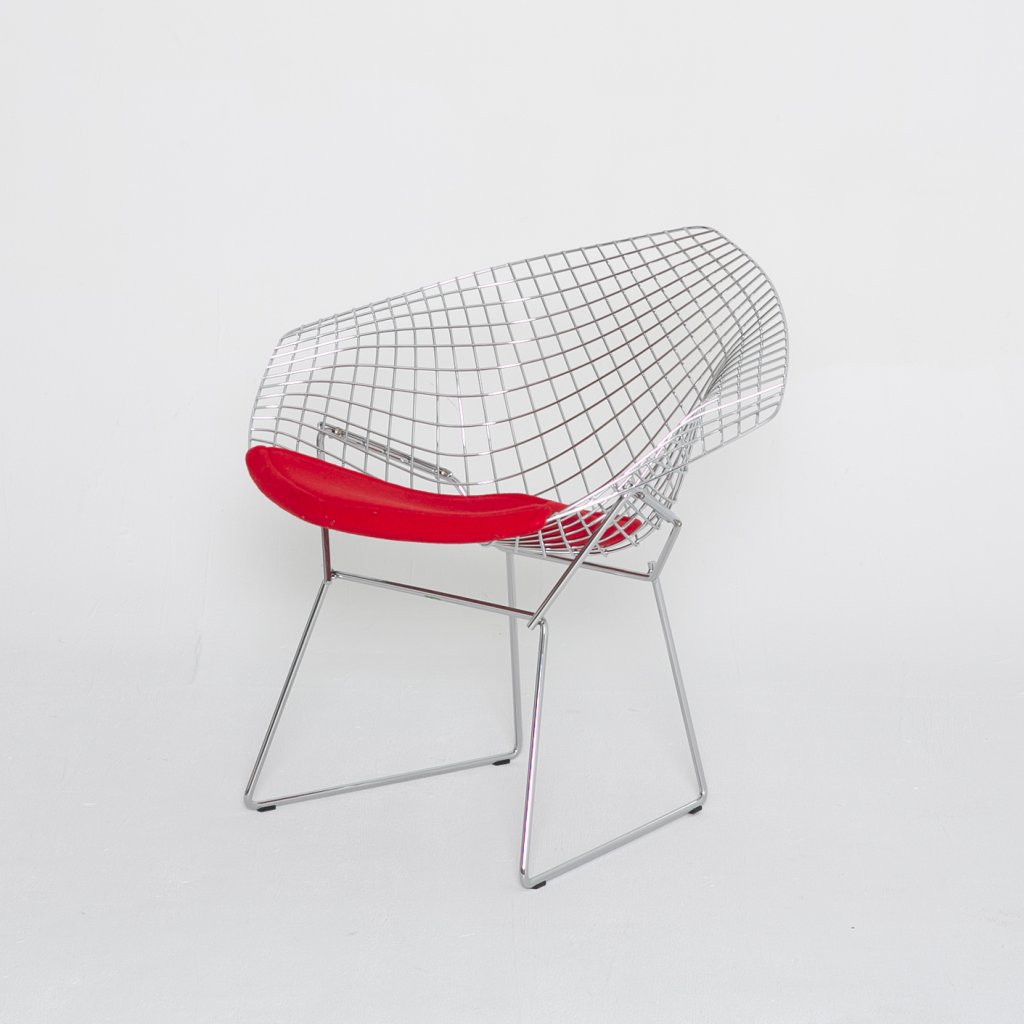 Fauteuil Harry Bertoia Diamond 1951 (Knoll)
