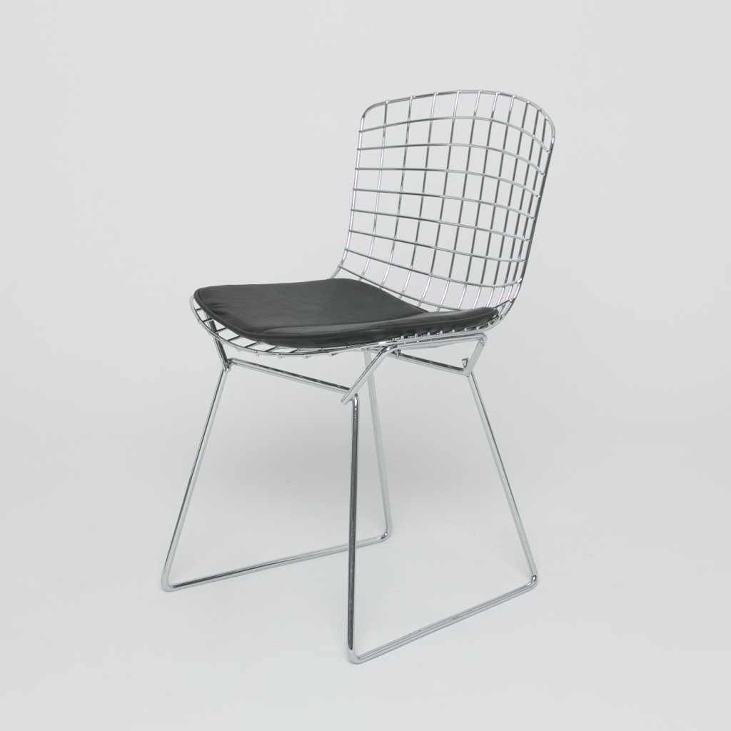 Chaise Harry Bertoia  1960 (Knoll) grand format