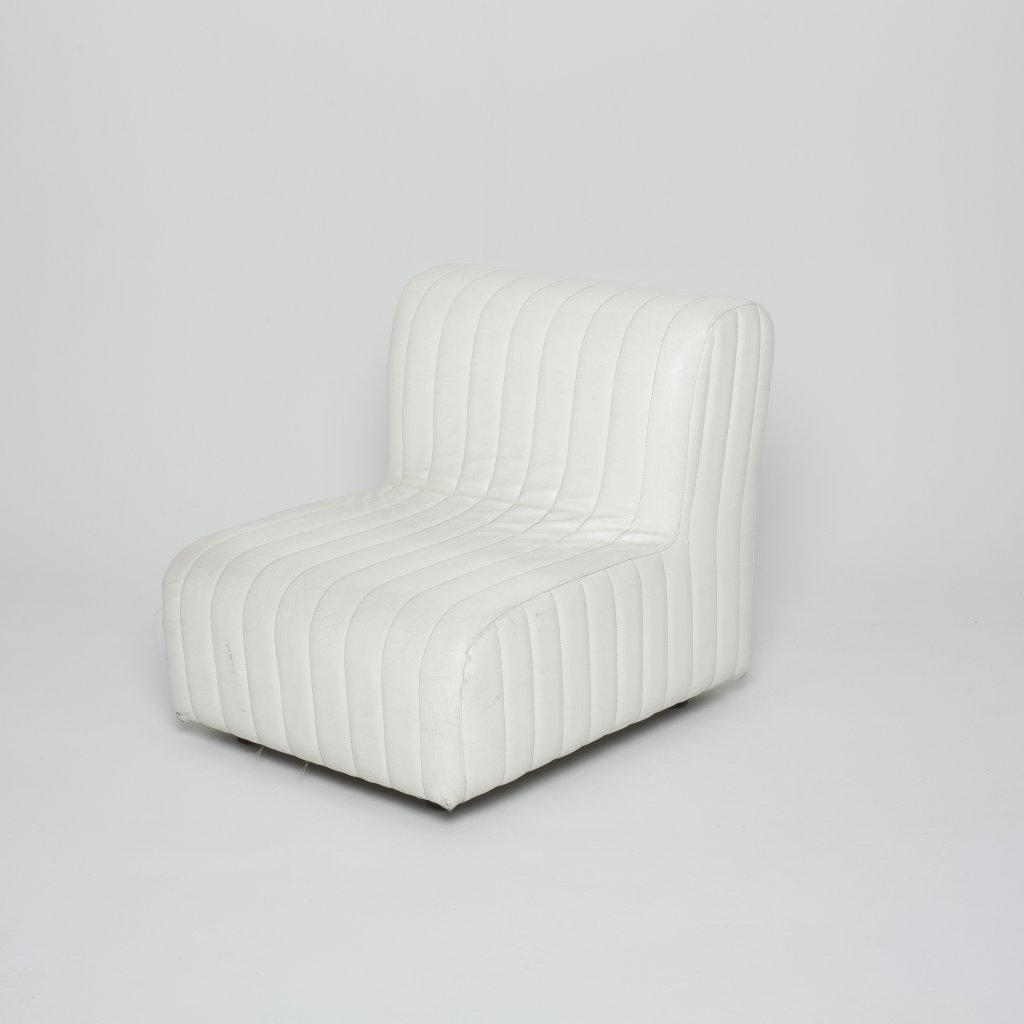 Fauteuil   Anonyme Stella blanc 1970 ( Inconnu) grand format