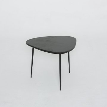 Table basse   Anonyme Marbre noir  (Pomax)