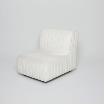 Fauteuil   Anonyme Stella blanc 1970 ( Inconnu)